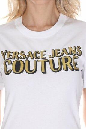 Versace Kadın Beyaz T-shirt 2