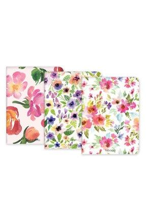 Fabooks Bahar Çiçekleri Defter Seti 0