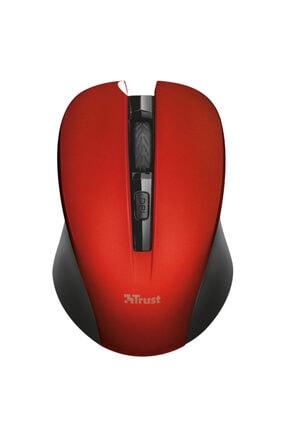 Trust 21870 Mydo Sessiz Kablosuz Mouse 1800dpi Sağ Ve Sol El Uyumlu Kırmızı 1