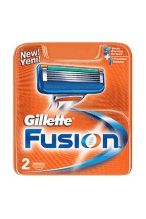 Gillette Fusion Yedek Tıraş Bıçağı 2'li 0