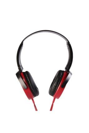 MF PRODUCT 0106 Mikrofonlu Kablolu Kulak Üstü Kulaklık Kırmızı 0
