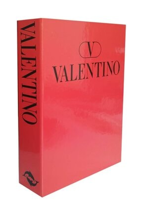 LYN HOME & DECOR Kırmızı Valentino Dekoratif Kutu 27x19x4cm. 0
