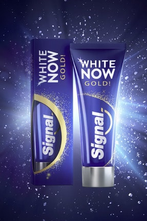 Signal White Now Gold Diş Macunu 75 ml X 4 Adet 2