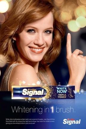 Signal White Now Gold Diş Macunu 75 ml X 4 Adet 3