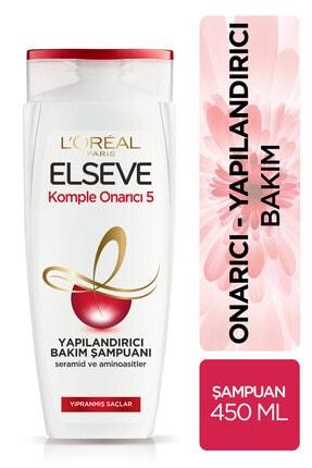 Elseve Komple Onarıcı 5 Yapılandırıcı Bakım Şampuanı 450 ml 1