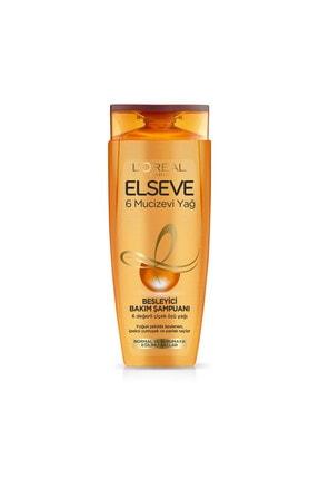 Elseve L'oréal Paris 6 Mucizevi Yağ Besleyici Bakım Şampuanı 450 ml 0