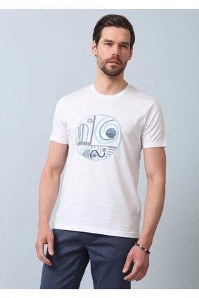 Ramsey Desenli Örme T - Shirt 0