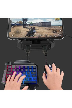 Gate K-snake Pubg Oyun Gaming Klavye + Gaming Mouse Pad 0