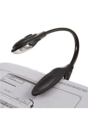 BLUE İNTER Kitap Okuma Işığı Led Booklight Kıskaçlı Pilli Model Led Işık 1