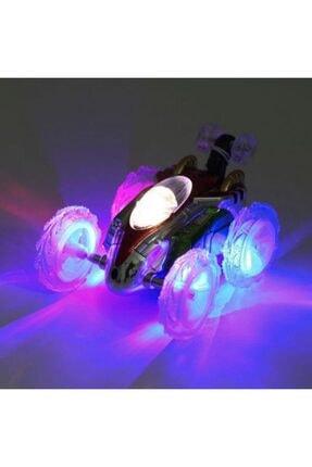 Hopefully Uzaktan Kumandalı Işıklı Takla Atan Akrobat Araba Oyuncak 0