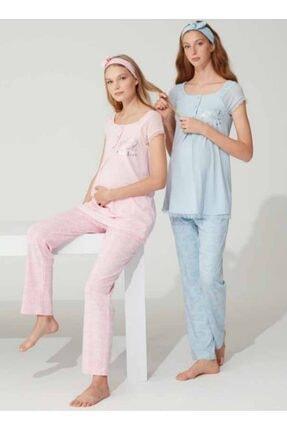 Feyza Bayan Hamile & Lohusa Pijama Takım 3763