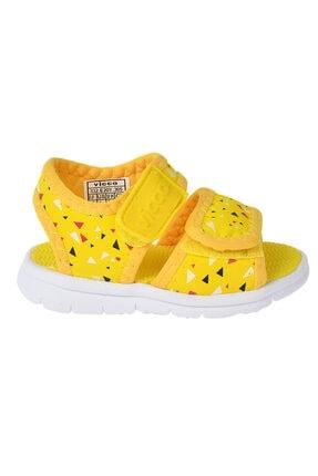 Vicco Kız Bebek Sarı Spor Sandalet 332.20y.305 1