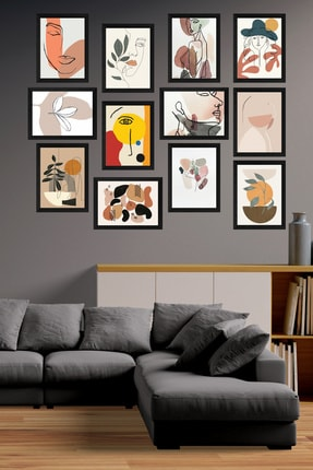 Cadran Modern Style 12 Parçalı Mdf Tablo Mck029 0