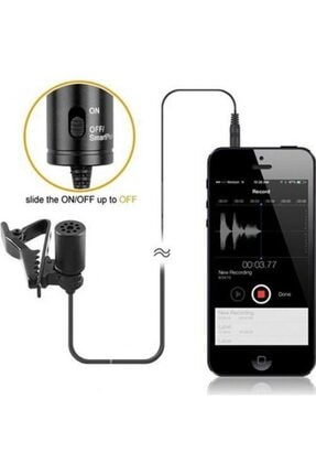 BOYA By-m1 Kamera Için Yaka Mikrofonu By-m1 4