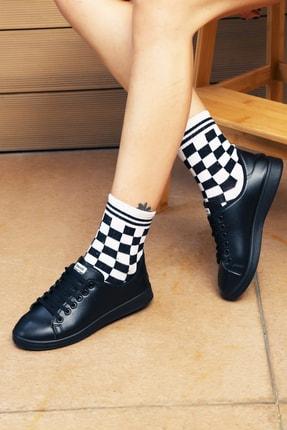 Ayakkabı Modası Siyah Kadın Ayakkabı M4000-19-110003R 0