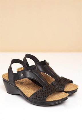 Pierre Cardin PC-1392 Siyah Kadın Sandalet 0