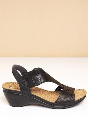 Pierre Cardin PC-1392 Siyah Kadın Sandalet 2
