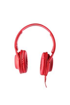 MF PRODUCT 0105 Mikrofonlu Kablolu Kulak Üstü Kulaklık Kırmızı 0
