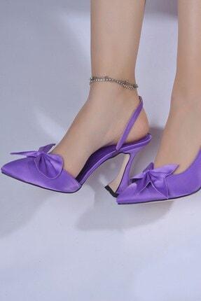 Tessera Kadın Mor Topuklu Ayakkabı 1
