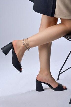 Tessera Topuklu Kadın Terlik 1