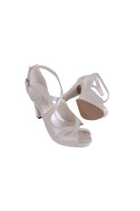 Hobby Beyaz Abiye Kadın Ayakkabı 104 1