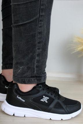 Giyyin Siyah Beyaz Unisex Sneaker Ltn0251 0