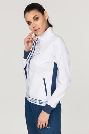 bilcee Beyaz Bi-Strech Kadın Eşofman Takımı FS-1135 4
