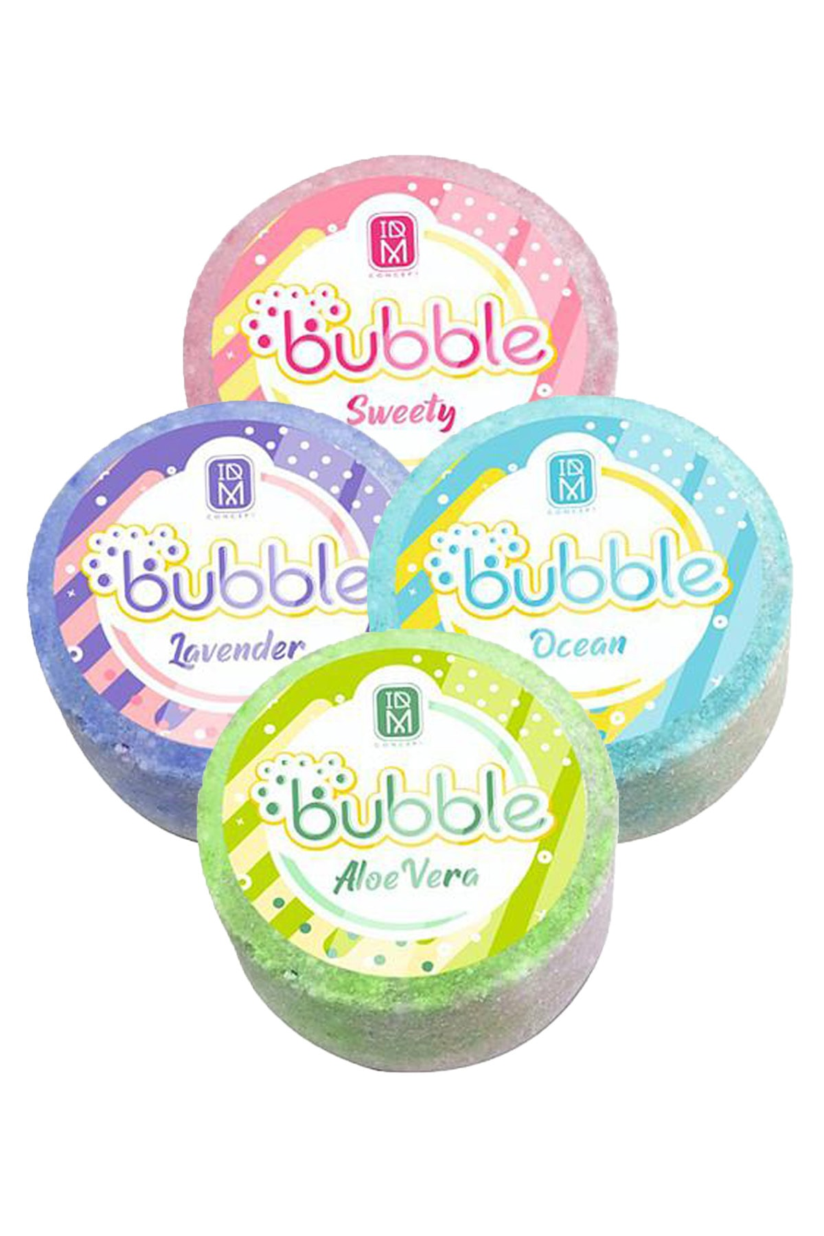 Concept Bubble Pedikür Banyo Topu 4 Adet 92 Gr
