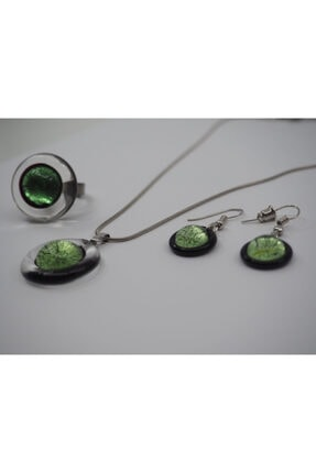 NK Artglass Kadın Yeşil Venecia Set 2