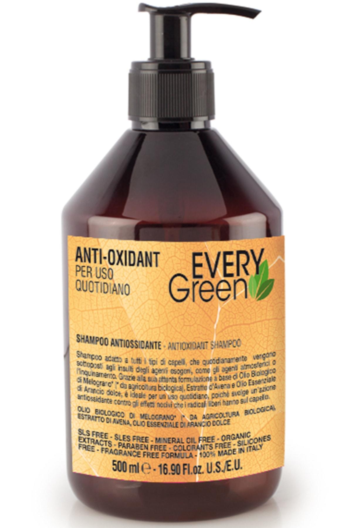 EveryGreen Antioksidan Şampuan - Tüm Saçlar 500 Ml 0