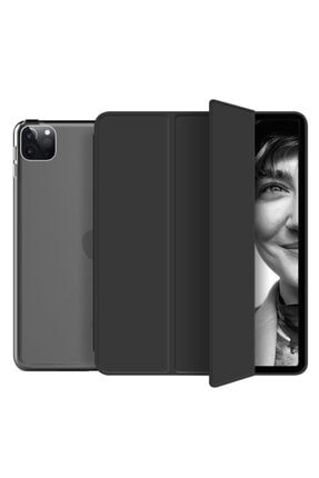 """Fibaks Apple Ipad Pro 4. Nesil (2020) 12.9"""" Kılıf Smart Cover Katlanabilir Standlı Akıllı Kapak 0"""
