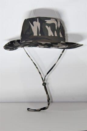 PRC şapka Yılmazel Yazlık Katlanabilir Safari Şapka Havalandırmalı 3