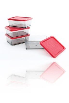 Piaff Bonbon Saklama Kabı 4'lü Mini Set Lx662 0