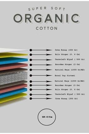 Heyner Biobed Ortopedik Yaylı Yatak Lüx Ortopedik Organıc Cotton Yumuşak Tuşeli Yaylı Yatak 50x80 Cm 3