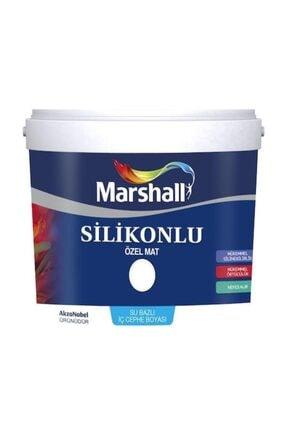 Marshall Silikonlu Özel Mat İç Cephe Duvar Boyası 2,5 lt beyaz 0