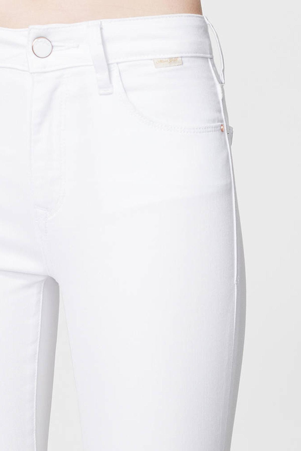 Mavi Kadın Tess Gold Beyaz Jean Pantolon 100328-28143 3