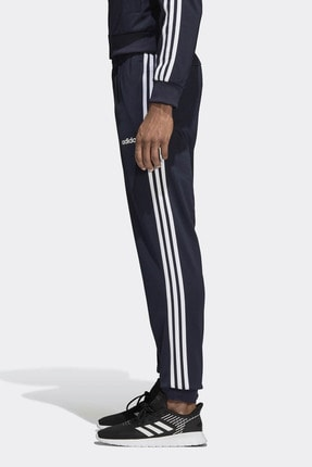 adidas Essenials 3 Stripes Tapered Tricot Pants Erkek Eşofman Altı 4