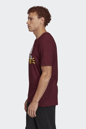 adidas Doodle Basics Badge OF Sport Erkek Tişört 2