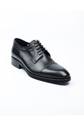 MARCOMEN 10005 Siyah Deri Jurdan Klasik Erkek Ayakkabı Siyah-40 0