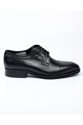 MARCOMEN 10005 Siyah Deri Jurdan Klasik Erkek Ayakkabı Siyah-40 1