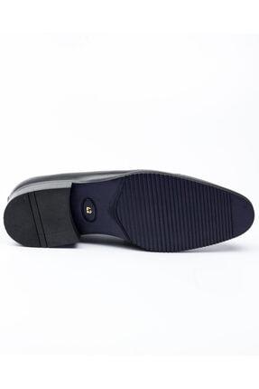 MARCOMEN 10005 Siyah Deri Jurdan Klasik Erkek Ayakkabı Siyah-40 4
