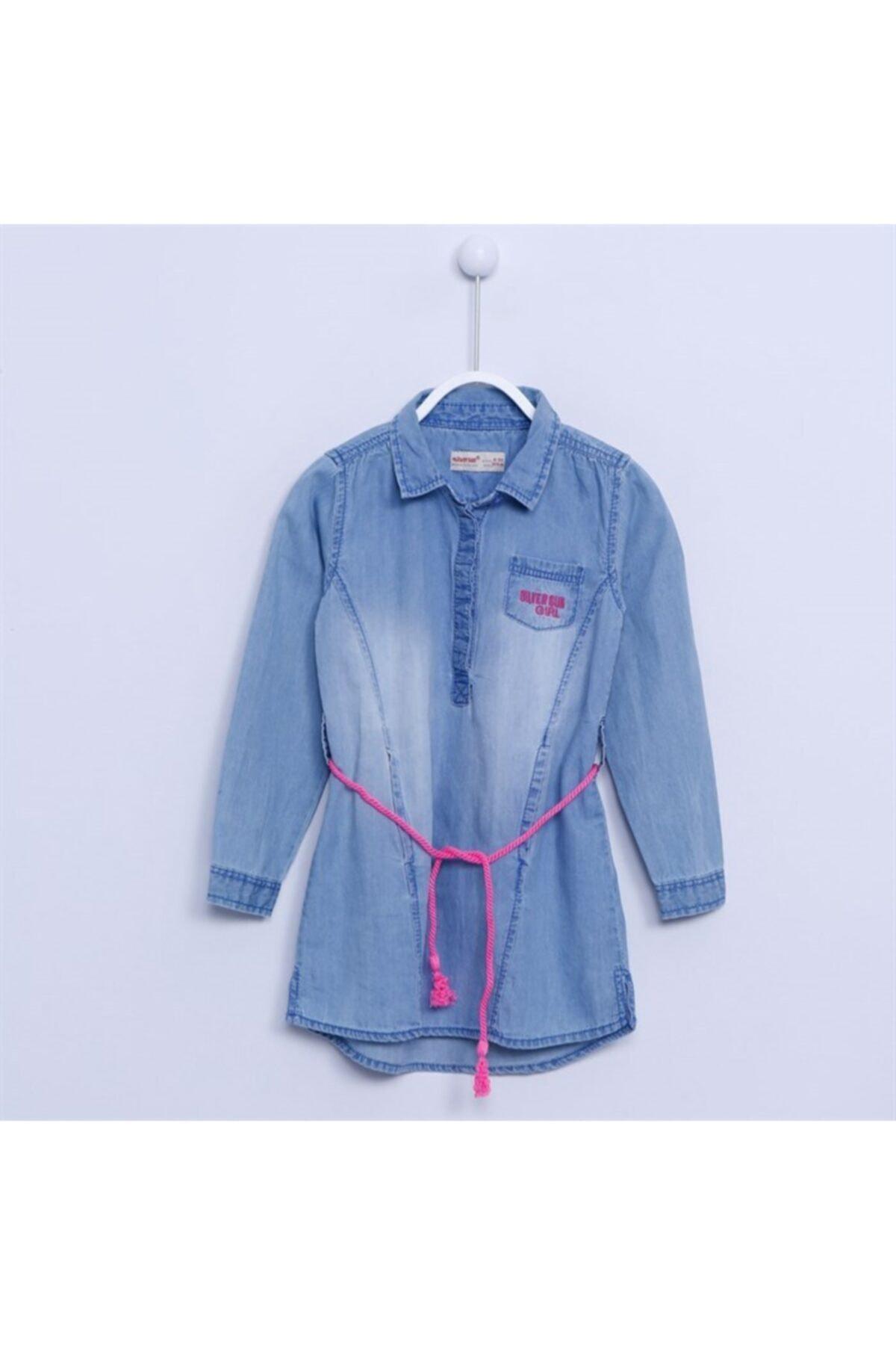 Kız Çocuk - Kot Gömlek - Gc 214210