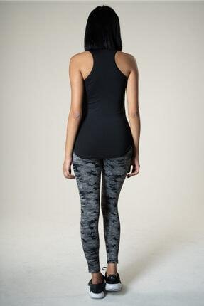 Runever Kadın Siyah Atlet 1