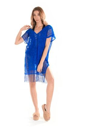 Plaj Elbisesi Lacivert - Deniz Elbisesi, Plaj Giyim Modeli ING8681846019