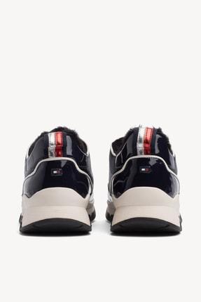 Tommy Hilfiger Kadın Cool Technical Satın Sneaker 2