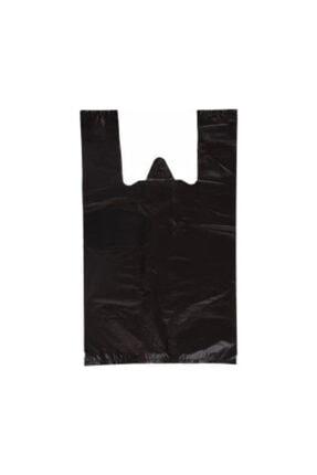 İhtiyaç Limanı Siyah Atlet Hışır Market Poşet Jumbo Boy 1kg 45x90 0