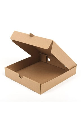 BİGA AMBALAJ Pizza Kutusu 20x20x4,5 Cm ( 100 Adet ) 1