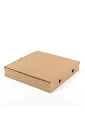 BİGA AMBALAJ Pizza Kutusu 20x20x4,5 Cm ( 100 Adet ) 2