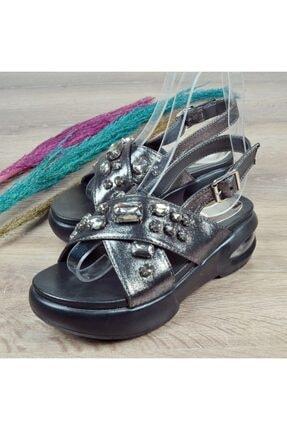 Guja 416 Kadın Taşlı Sandalet 0