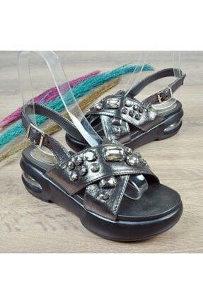 Guja 416 Kadın Taşlı Sandalet 2